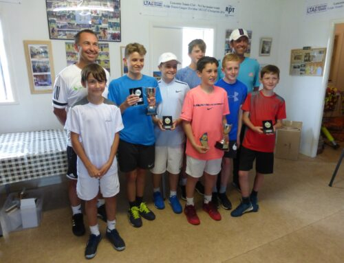 LTA approved junior tournament